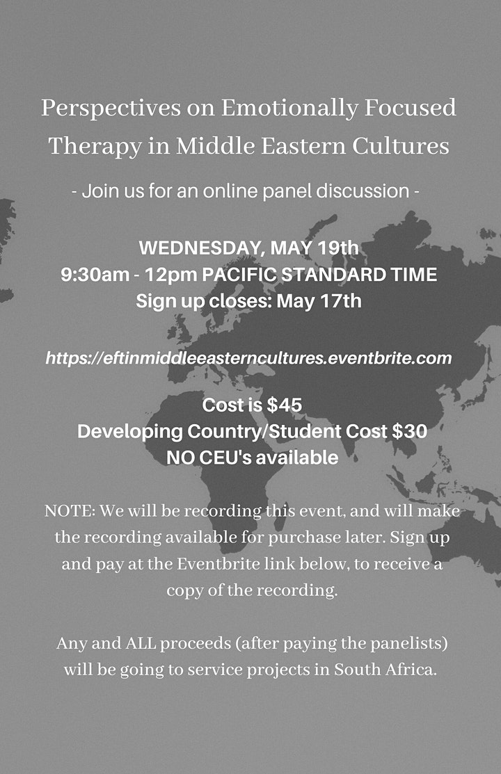 Perspectives on Emotionally Focused Therapy in Middle Eastern Cultures image