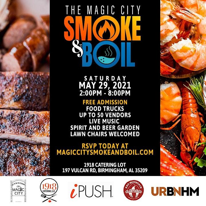 The Magic City Smoke and Boil image