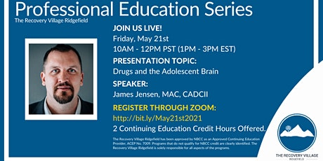 Professional Education Series: Drugs and the Adolescent Brain tickets