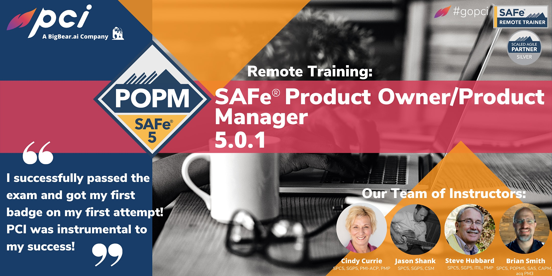 SAFe® Product Owner/Product Manager 5.0.1 – Remote