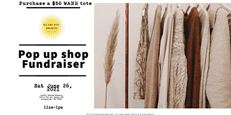 2nd Annual Pop-up Fundraiser tickets
