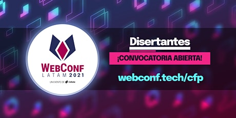 WebConf LATAM 2021 boletos
