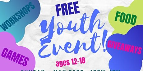 Free Youth Event tickets