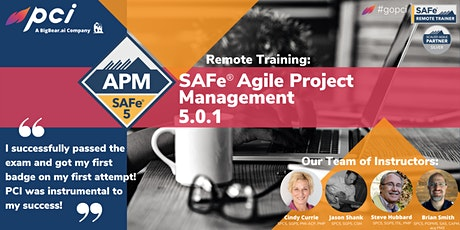 SAFe® Agile Product Management 5.0.1 - Remote tickets