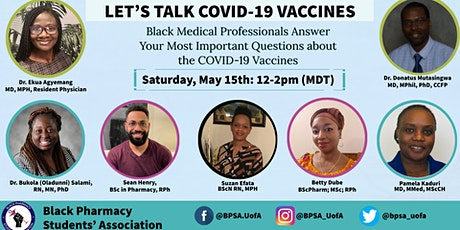Let's Talk COVID-19 Vaccines tickets