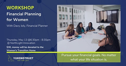 Workshop: Financial Planning for Women tickets