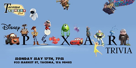 Disney Pixar Movie Trivia at Tacoma Comedy Club tickets