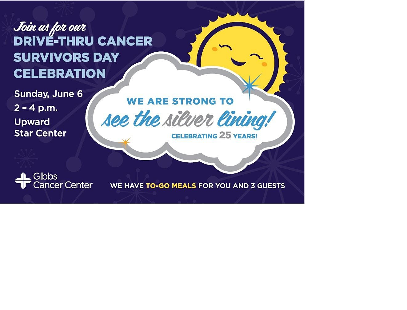 Cancer Survivors Day - Drive-Thru Celebration
