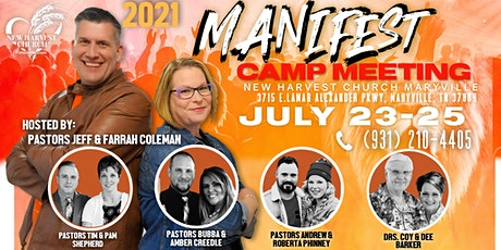 2021 Manifest Camp Meeting tickets
