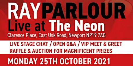 Ray Parlour - Live @ The Neon! tickets