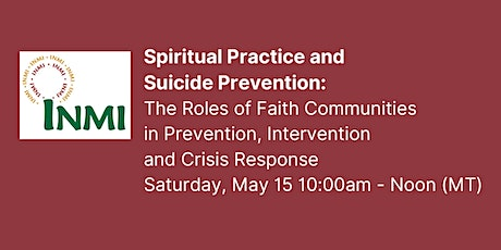 Spiritual Practice and Suicide Prevention tickets