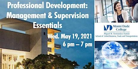 Professional Development: Management & Supervision Essentials tickets
