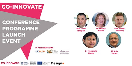 Co-Innovate Conference-programme Launch Event and Q&A tickets