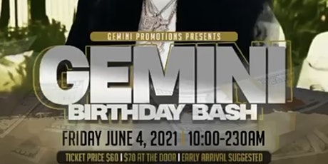 Gemini Birthday Bash tickets