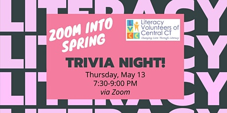 Zoom Into Spring Trivia Night tickets