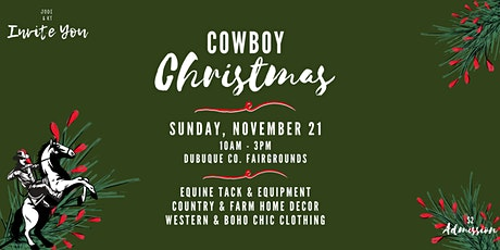 Cowboy Christmas tickets