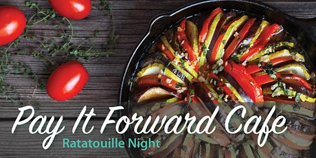 Pay It Forward Cafe - Ratatouille tickets