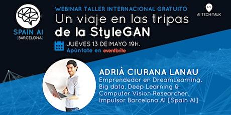 Webinar (AI Tech Talk) taller: Un viaje en las tripas de la StyleGAN entradas