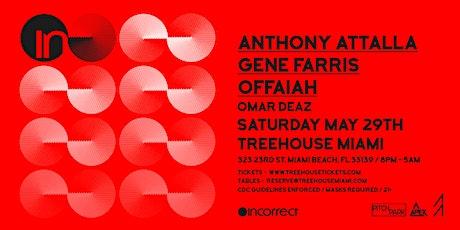 Incorrect Showcase: Anthony Attalla, Gene Farris & Offaiah @ Treehouse Miam tickets