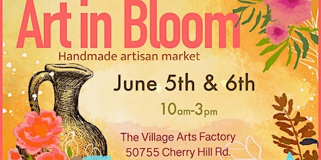 Art in Bloom Saturday June 5th tickets