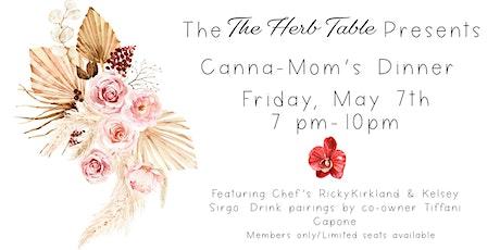 Canna-Mom's Dinner in The Garden tickets