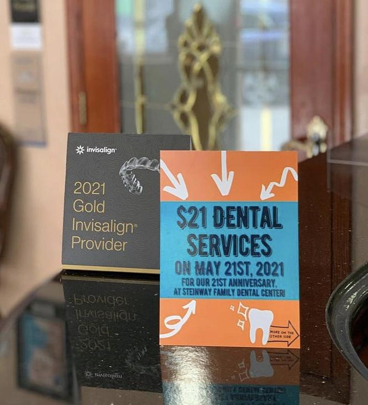 Steinway Family Dental Center 21st Anniversary Special! image