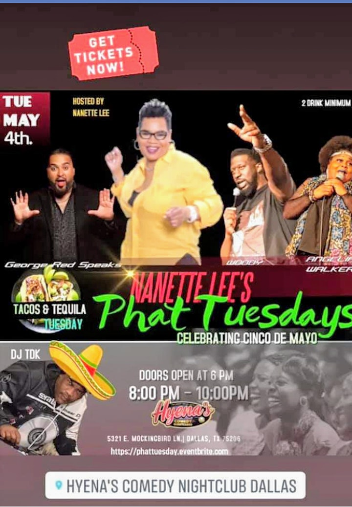 Phat Tuesday Comedy Show image