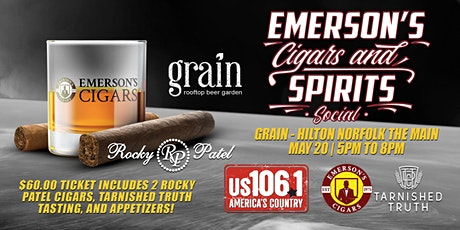 Emerson's Cigars And Spirits Social! tickets