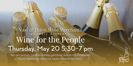 Wine for the People tickets
