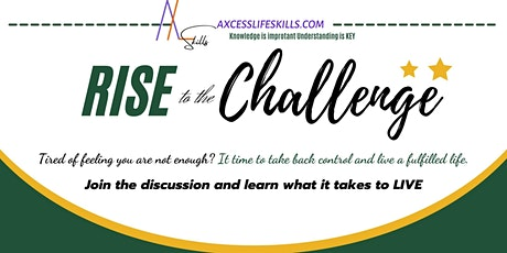 RISE to the Challenge tickets