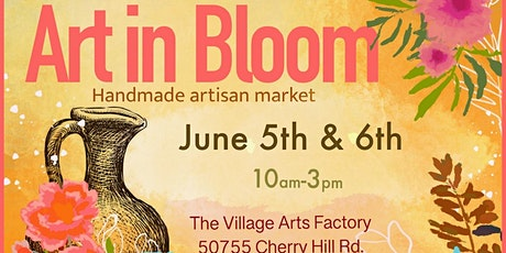 Art in Bloom June 6th tickets