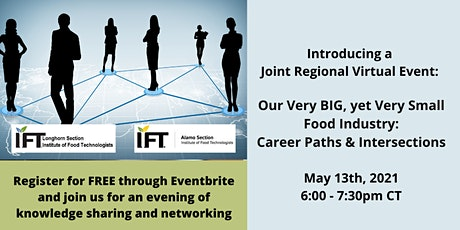 Our Very Big, Yet Very Small Food Industry: Career Paths & Intersections tickets