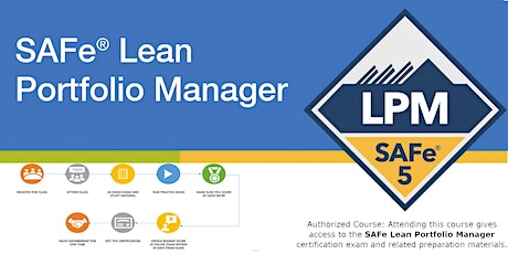 Lean Portfolio Management with Certified SAFe® Lean Portfolio Manager biglietti
