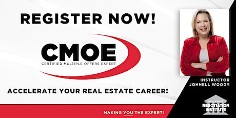 Certified Multiple Offers Expert (CMOE) - Hybrid Class (Johnell Woody) tickets