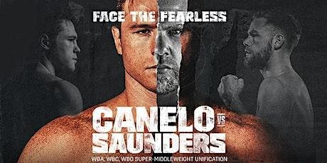 ||| CANELO VS. SAUNDERS ||| tickets
