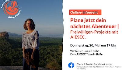 Plane jetzt dein nächstes Abenteuer | Freiwilligen-Projekte mit AIESEC Tickets