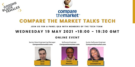 Compare the Market Talks Tech tickets