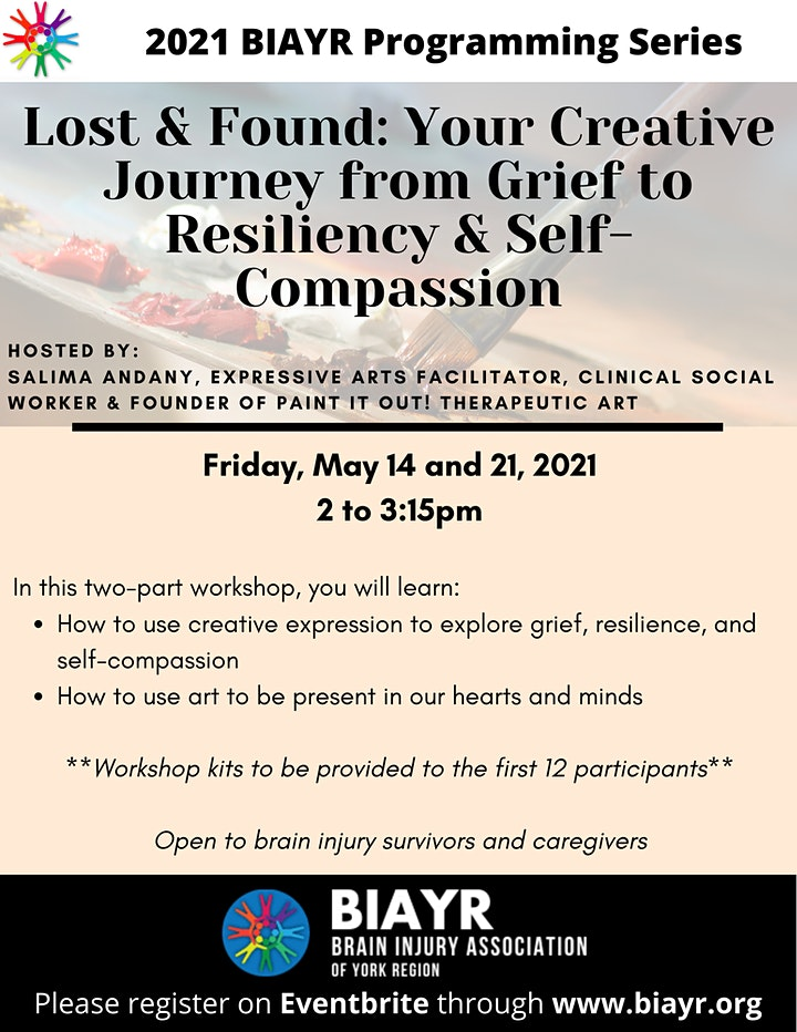 Lost & Found: Your Creative Journey - 2021 BIAYR Programming Series image