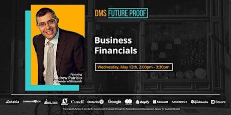 Business Financials tickets