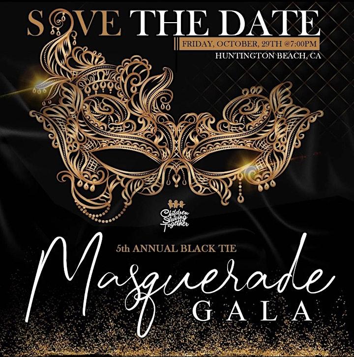 5th Annual Black Tie Masquerade Gala image
