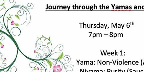 Journey through the Yamas and Niyamas Tickets