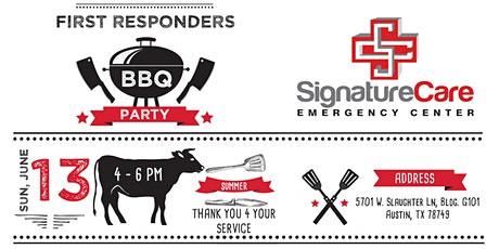 Fire Up The Grill First Responders BBQ tickets