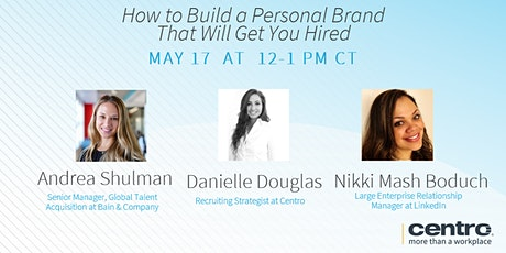 How to Build a Personal Brand That Will Get You Hired tickets