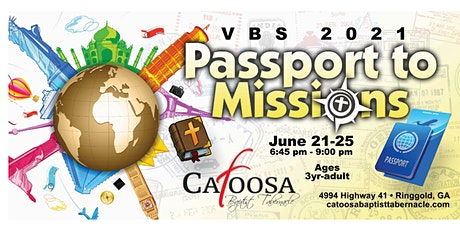 Vacation Bible School with Catoosa Baptist Tabernacle tickets