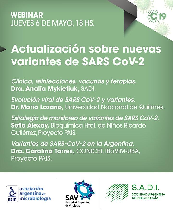 Imagen de Actualización sobre nuevas variantes de SARS-CoV2