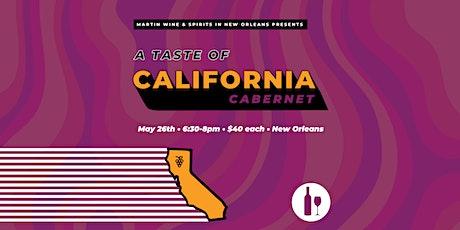 A Taste of California Cabernet tickets