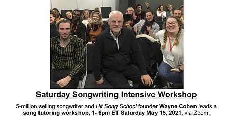 Saturday Songwriting Intensive Workshop ($60 Discount) tickets
