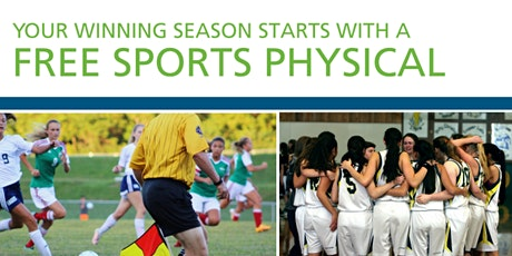 Free Sports Physicals tickets