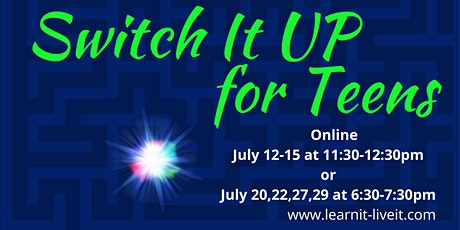 Switch it UP for Teens tickets