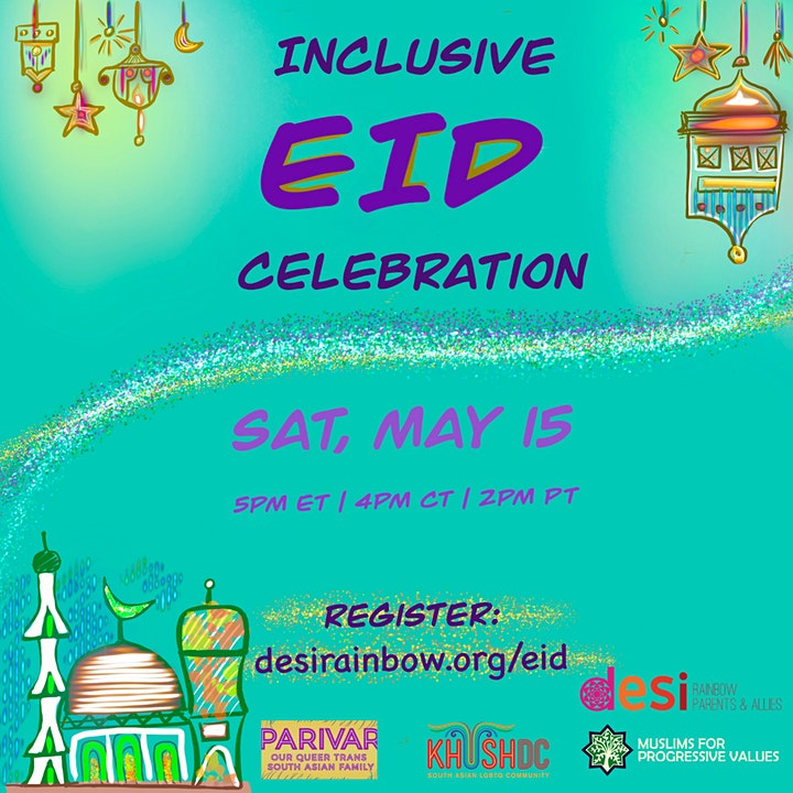 Desi Rainbow: Inclusive Eid Celebration image